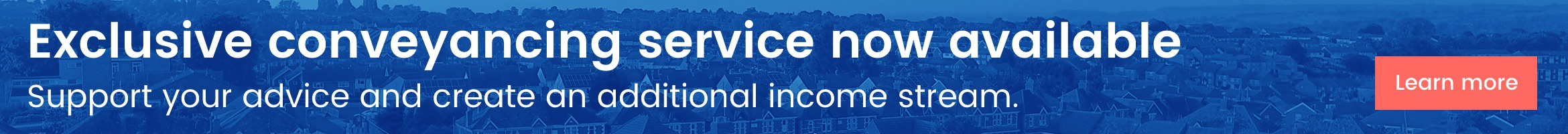 Exclusive conveyancing service now available